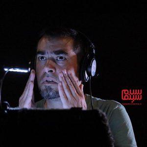 شهاب حسینی در پشت صحنه «آن شب»