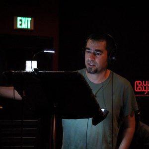 شهاب حسینی در نمایی از پشت صحنه فیلم سینمایی «آن شب»