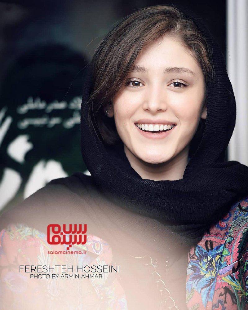 فرشته حسینی در اکران مردمی فیلم «سونامی» در سینما کوروش