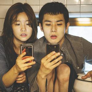 وو سیک چو و سو دام پارک در فیلم «انگل» (Parasite)