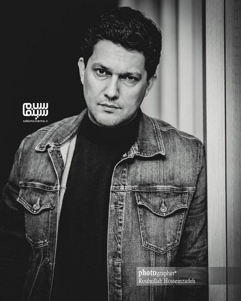 حامد بهداد در اکران مردمی فیلم «جان دار» در سینما کوروش