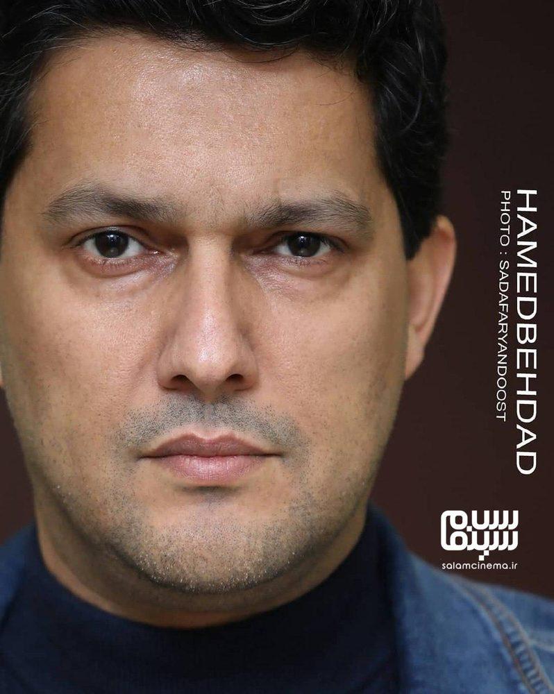 حامد بهداد در اکران مردمی فیلم «جان دار» در پردیس سینمایی کوروش