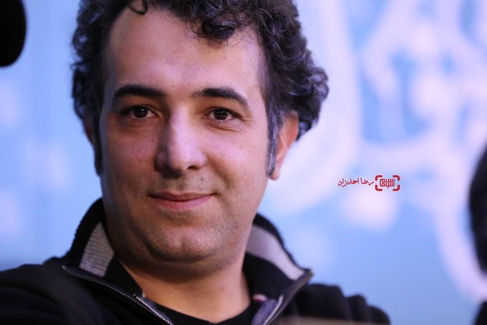 هاتف علیمردانی در نشست خبری فیلم «آباجان» در سی و پنجمین جشنواره فیلم فجر