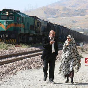 سعید آقاخانی و مریم عباس زاده در فیلم «خون شد»