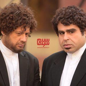 علی صادقی و امیر نوری در سریال نمایش خانگی «موچین»
