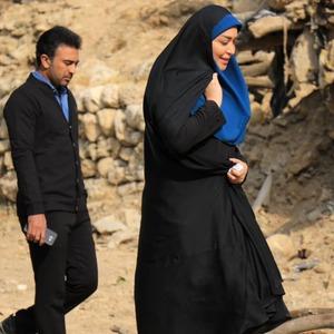 مرتضی رحیمی و سارا منجزی پور در تله فیلم «مندیر بارون»