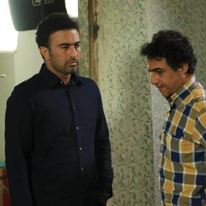 مرتضی رحیمی و رامین راستاد  در تله فیلم «مندیر بارون»