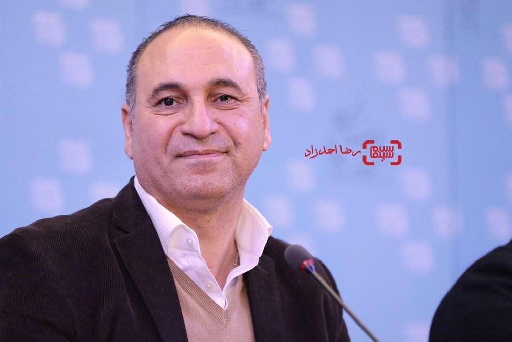 حمید فرخ نژاد در نشست خبری فیلم «خوب، بد، جلف» در سی و پنجمین جشنواره فیلم فجر