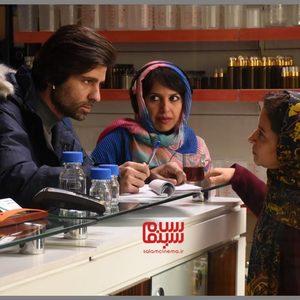 علی کیان ارثی، فرشته صدرعرفایی و مریم بحرالعلومی در پشت صحنه فیلم «شهربانو»