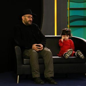 هدایت هاشمی و دخترش در برنامه معرفی فیلم «پدران» در «تا جشنواره ۳۸»