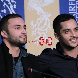 امیر جدیدی و ساعد سهیلی در نشست خبری فیلم «روز صفر» در جشنواره فیلم فجر 38ر