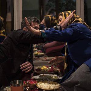 فاطمه معتمدآریا و هوتن شکیبا در فیلم «عامه پسند»