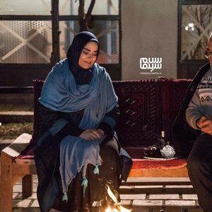 مسعود فروتن و سپیده خداوردی در سریال «شاه رگ»