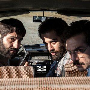 نیما رییسی، عباس غزالی و عطا عمرانی در سریال «شاه رگ»