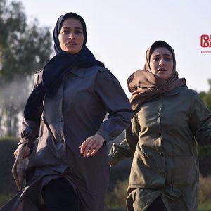 شبنم گودرزی و ویدا جوان در فیلم سینمایی «آبادان یازده 60»