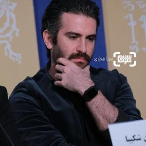 هوتن شکیبا در نشست خبری فیلم «عامه پسند» در جشنواره فیلم فجر 38