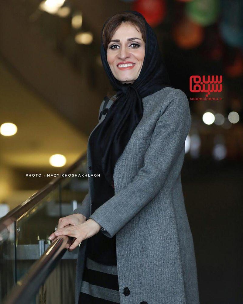 آتیه جاوید در اکران فیلم «دارکوب» در جشنواره فیلم فجر 36