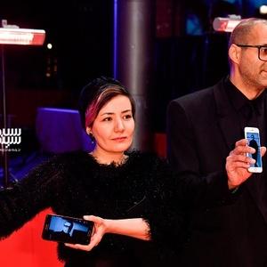 شقایق شوریان و بردیا یادگاری در فرش قرمز فیلم «شیطان وجود ندارد» در جشنواره برلین 2020
