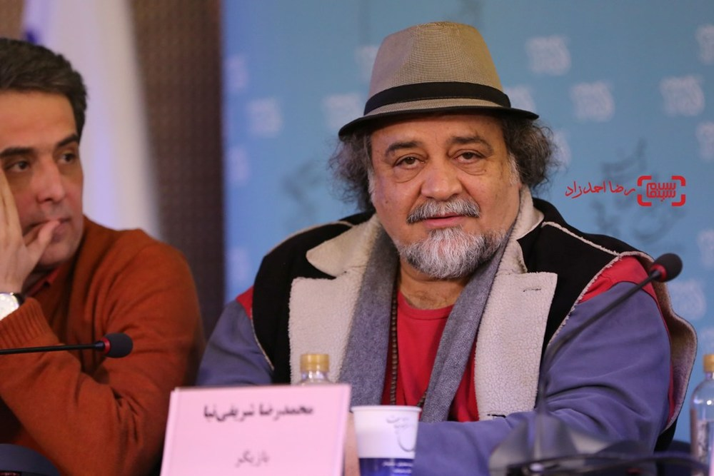 محمدرضا شریفی نیا در نشست خبری «پشت دیوار سکوت» در جشنواره فیلم فجر