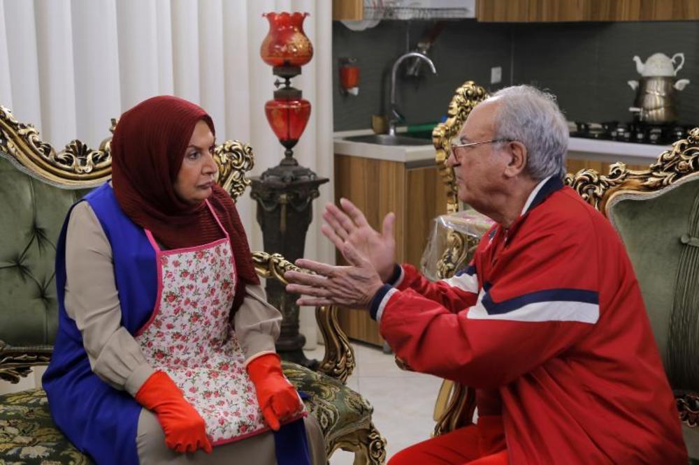 رضا نیکخواه و شهین تسلیمی در سریال «میانبر»