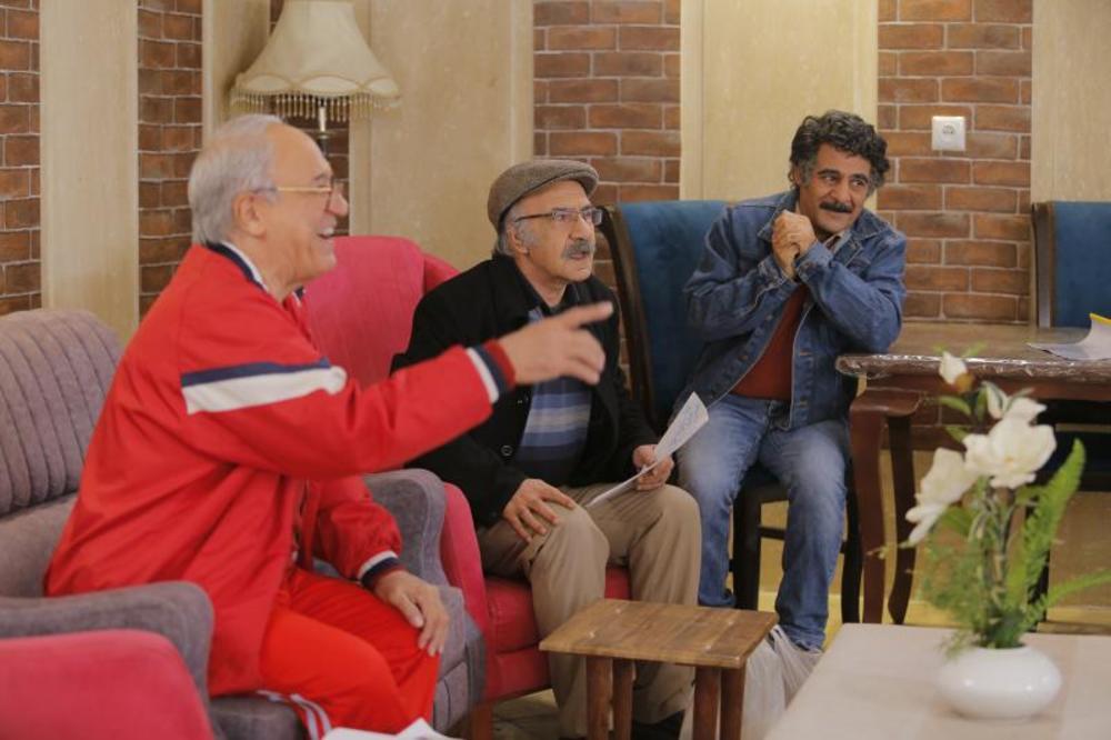 محمود جعفری و سیاوش چراغی پور در سریال «میانبر»