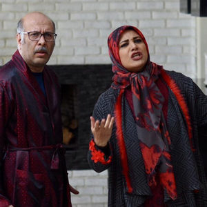 شبنم مقدمی و محمد بحرانی در سریال تلویزیونی «دوپینگ»