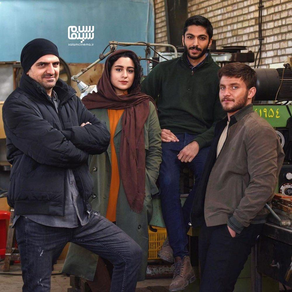 دارا حیایی، علیرضا آرا، کیسان دیباج و فاطیما بهارمست بازیگران سریال «از سرنوشت»