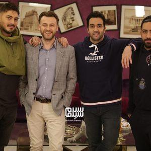 نیما شاهرخ شاهی، پوریا پورسرخ، سامان گوران و امره تتیکل در «شام ایرانی»