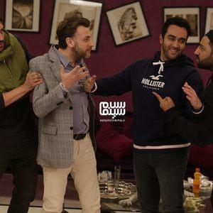 نیما شاهرخ شاهی، پوریا پورسرخ، سامان گوران و امره تتیکل در برنامه «شام ایرانی»