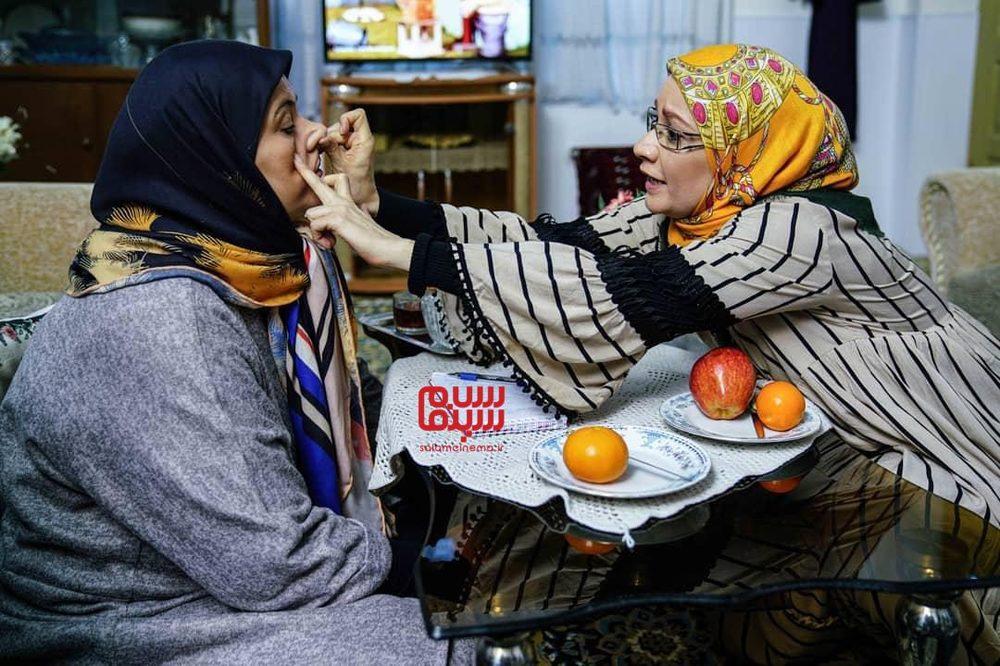 ریما رامین فر و نسرین نصرتی- سریال تلویزیونی «پایتخت 6» - بهترین سریال نوروزی سال ۹۹