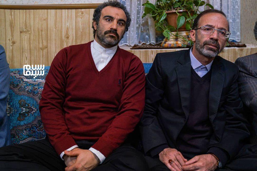 محسن تنابنده و سیدامیر سیدزاده در سریال «پایتخت 6»