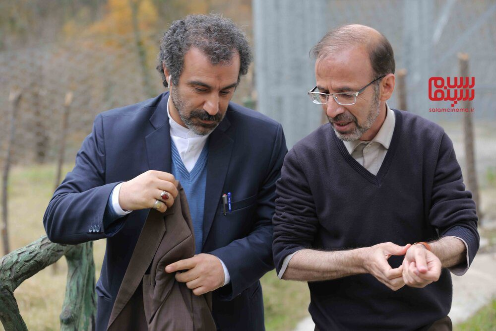 محسن تنابنده و سیدامیر سیدزاده در سریال تلویزیونی «پایتخت 6»