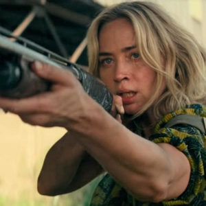 امیلی بلانت در فیلم «یک مکان ساکت 2» (A Quite Place 2)