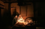 مینا ساداتی در نقش حضرت آمنه، مادر پیامبر(ص)