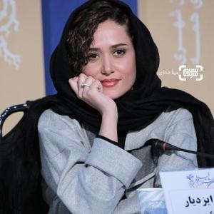 پریناز ایزدیار در نشست خبری فیلم «مغز استخوان» در سی و هشتمین جشنواره فیلم فجر