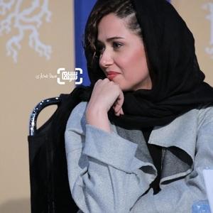 پریناز ایزدیار در نشست خبری فیلم سینمایی «مغز استخوان» در سی و هشتمین جشنواره فیلم فجر