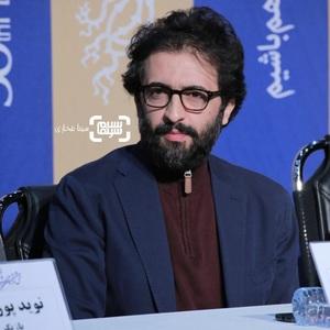 بهروز شعیبی در نشست خبری فیلم «مغز استخوان» در سی و هشتمین جشنواره فیلم فجر