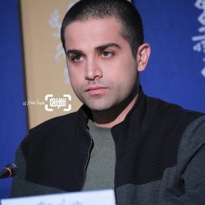 آرمان درویش در نشست خبری فیلم «پسرکشی» در سی و هشتمین جشنواره فیلم فجر
