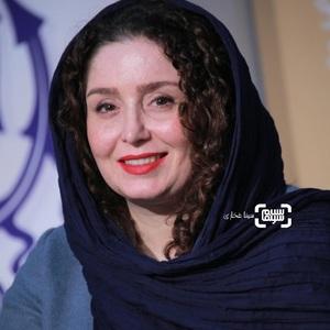 ژاله صامتی در نشست خبری فیلم «پسرکشی» در سی و هشتمین جشنواره فیلم فجر