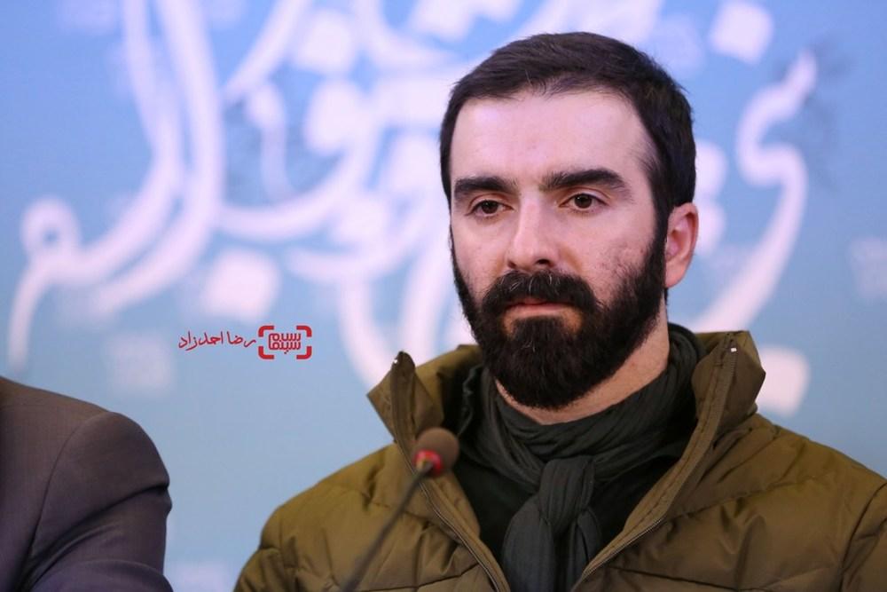 محسن قرایی در نشست خبری فیلم «سد معبر» در سی و پنجمین جشنواره فیلم فجر