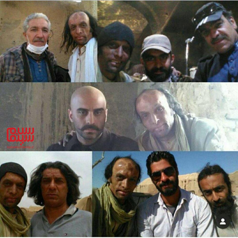 داود محمدآبادی در پشت صحنه فیلم «یتیم خانه ایران»
