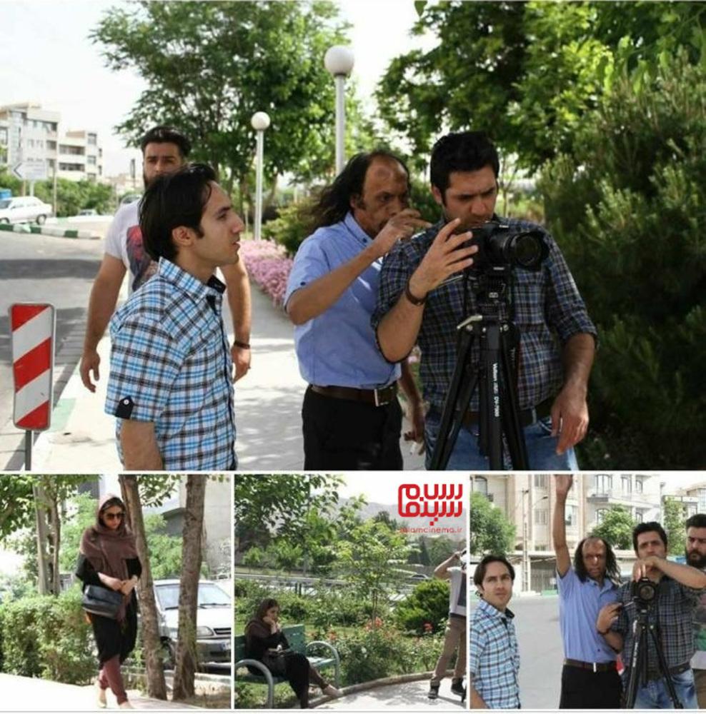 داود محمدآبادی در پشت صحنه فیلم کوتاه «ربان عشق»