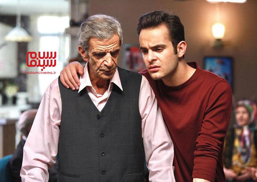 محمدجواد جعفرپور و یداله شادمانی در سریال «پدر پسری»