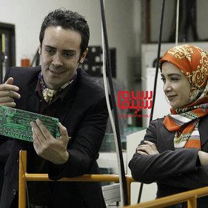 کاوه سماک باشی و فرناز رهنما در سریال «بچه مهندس 3»