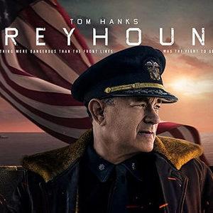 تام هنکس در پوستر فیلم «سگ تازی» (Greyhound)