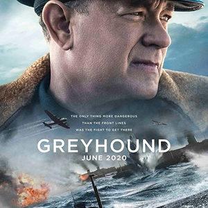 تام هنکس در پوستر فیلم سینمایی «سگ تازی» (Greyhound)