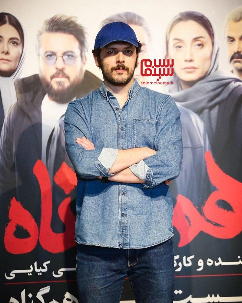 پدرام شریفی در نشست خبری سریال «هم گناه»