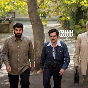 حسین پاکدل، نیما رییسی، عباس غزالی و عطا عمرانی در سریال «شاه رگ»