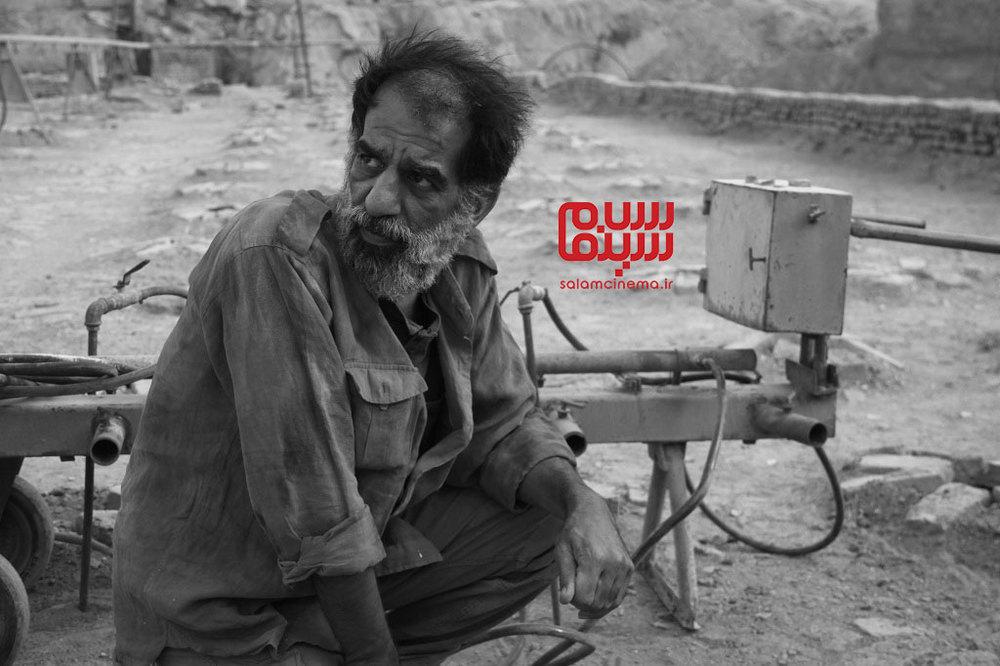 علی باقری در فیلم «دشت خاموش»