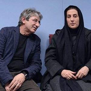 فاطمه معتمدآریا و همسرش در فیلم بهمن